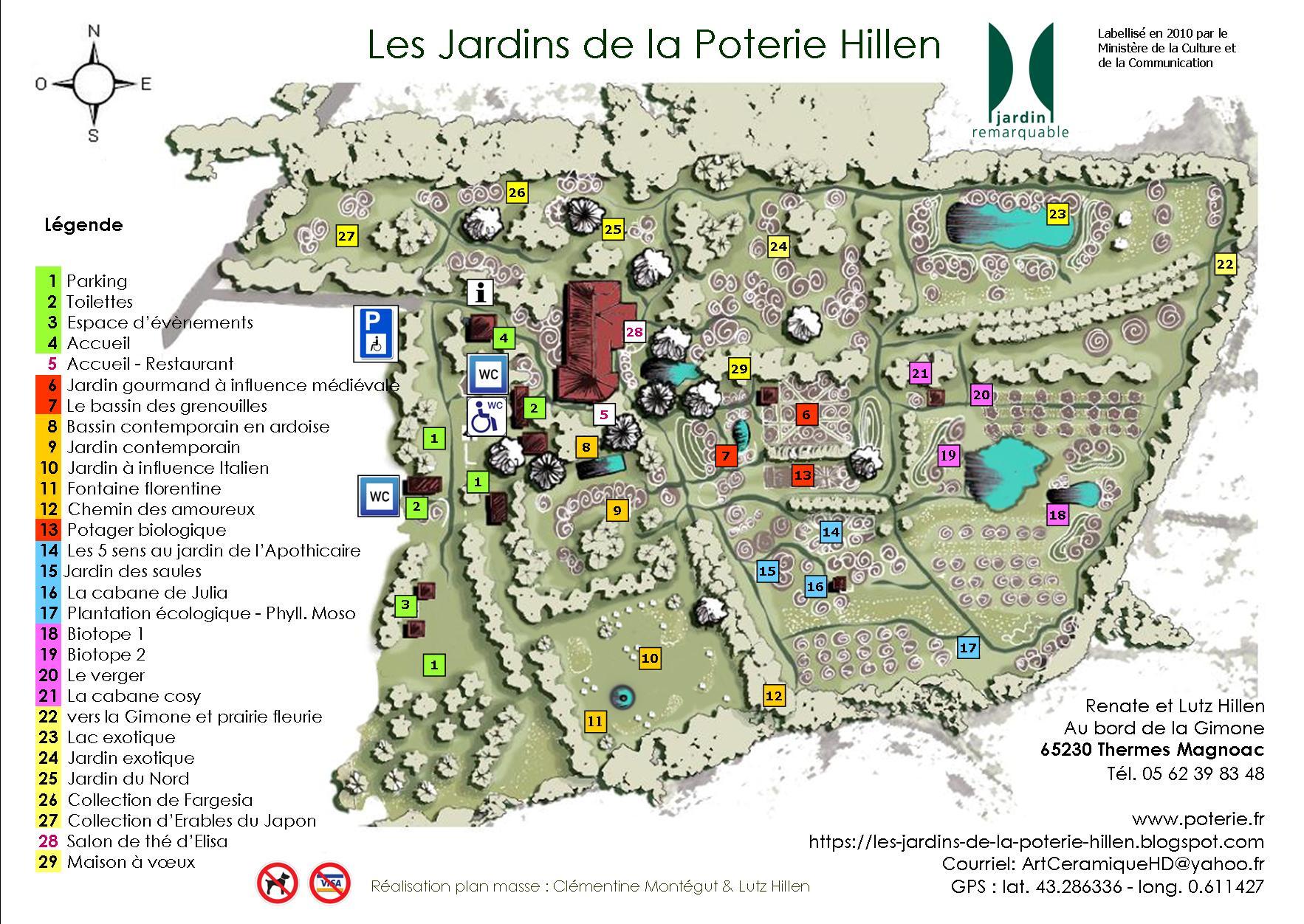Les Jardins de la Poterie Hillen: tarifs / ouverture - opening hours ...