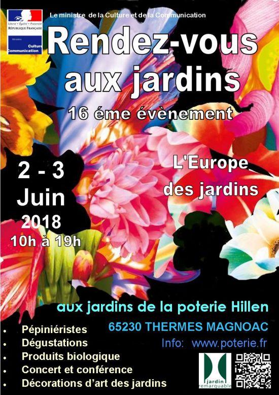 Rendez-vous aux jardins de la poterie Hillen à Thermes-Magnoac - France 65