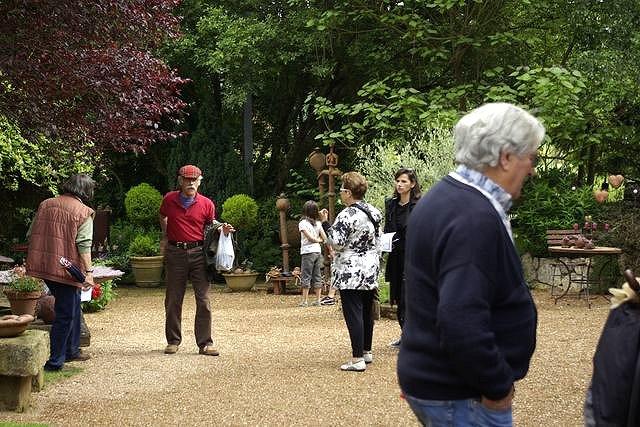 Les rendez vous aux jardins 2008 de la poterie hillen for Le jardin aux 100 secrets